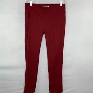 Crosby Burgundy ankle pants